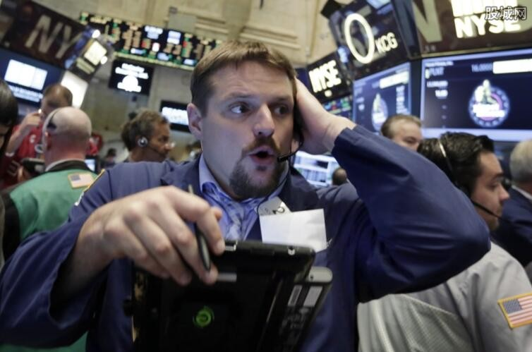 美国股市遭遇暴跌行情