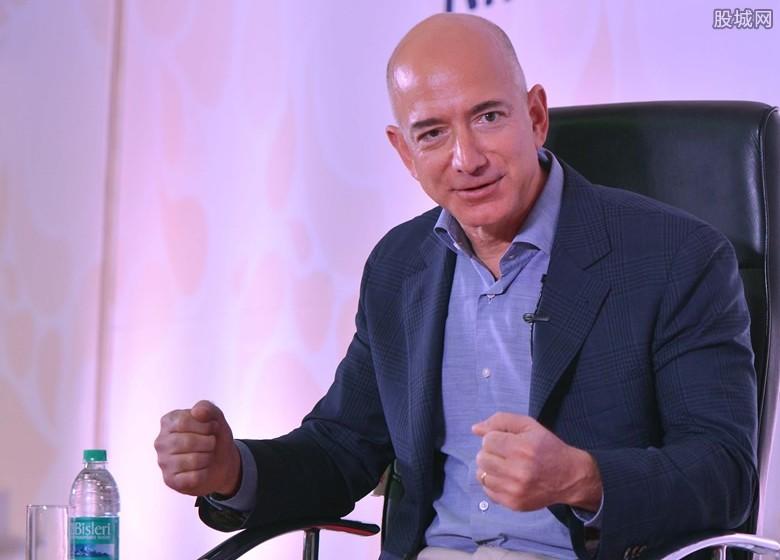 亚马逊CEO离婚 目前身家1369亿美元成世界首富