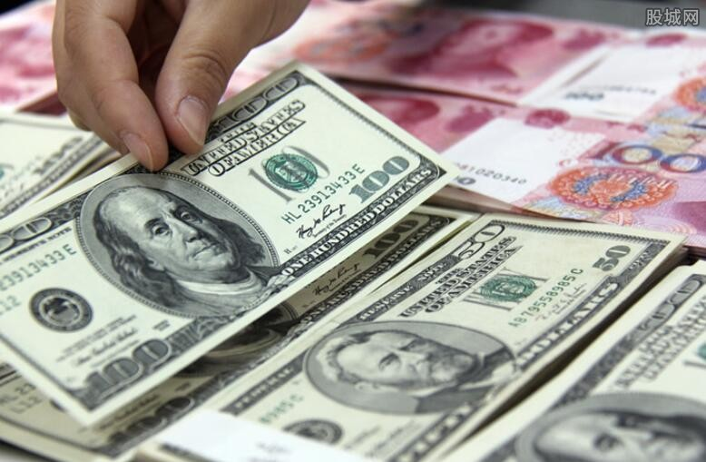 人民币对美元中间价下调