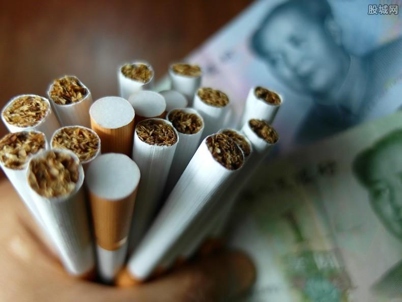 中国烟草税利万亿