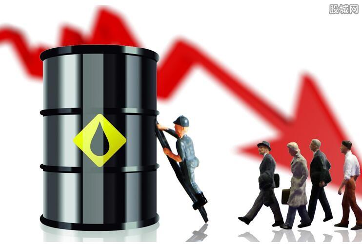 原油期货下跌