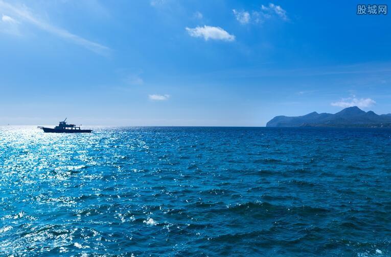 我国海洋生产总值近