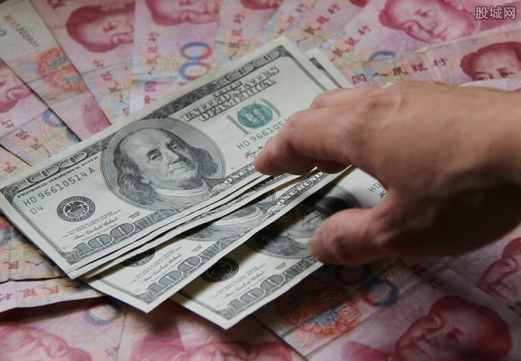 人民币对美元中间价下调 今日报6.8821
