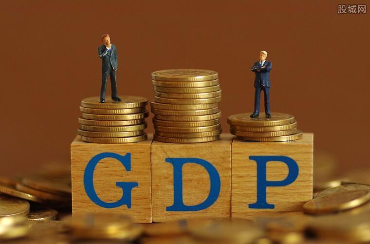 中国各地GDP排名榜出来