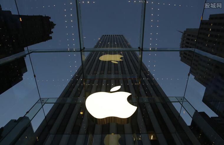 苹果市值蒸发2800亿