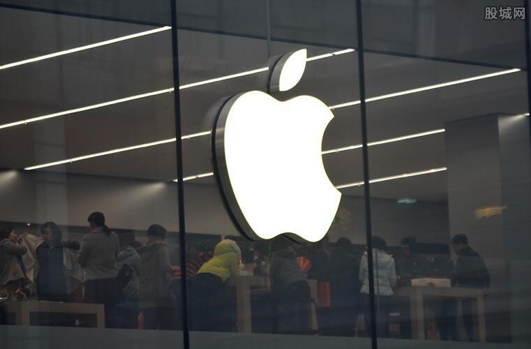 苹果股价大涨