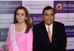 印度首富身价超巴菲特也比马云多32亿美元