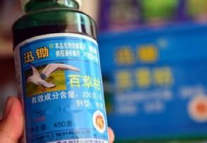 百草枯产品不得在境内销售官方推进专项整治工作