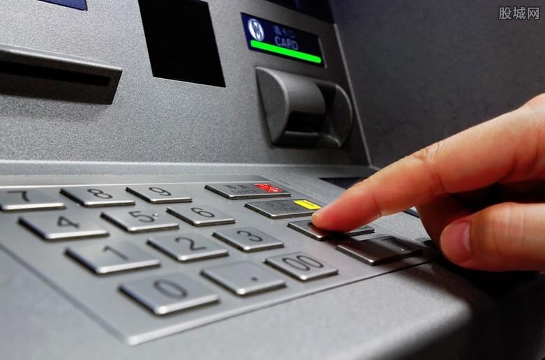 银行ATM机