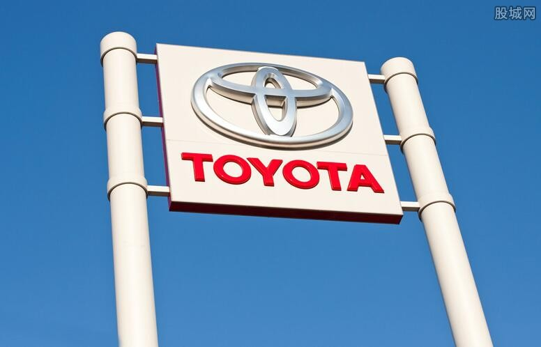 丰田汽车销量