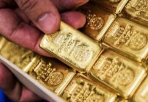 黄金价格现在是下跌吗今天金价多少钱一克